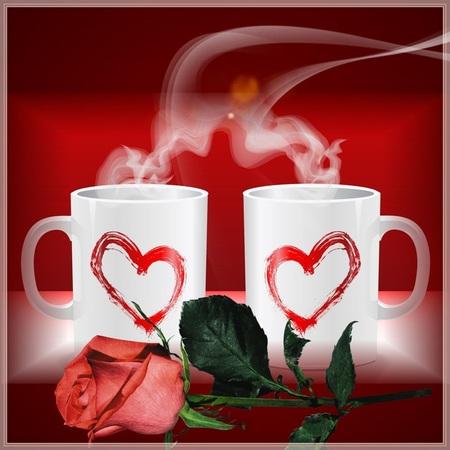 Красивая открытка с добрым утром для любимого парня